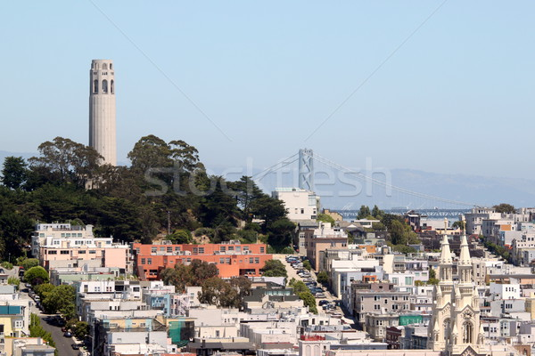 Stock photo: San Francisco Coit Tower