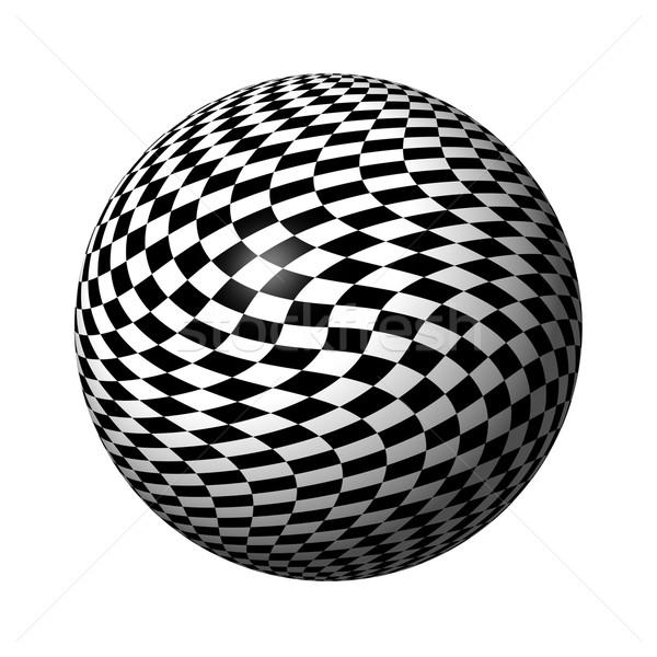 Chessboard Globe Stock photo © hlehnerer