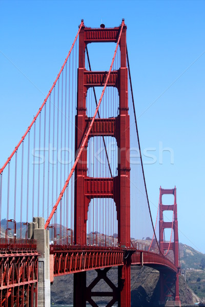 Golden Gate Golden Gate híd San Francisco Kalifornia égbolt víz Stock fotó © hlehnerer