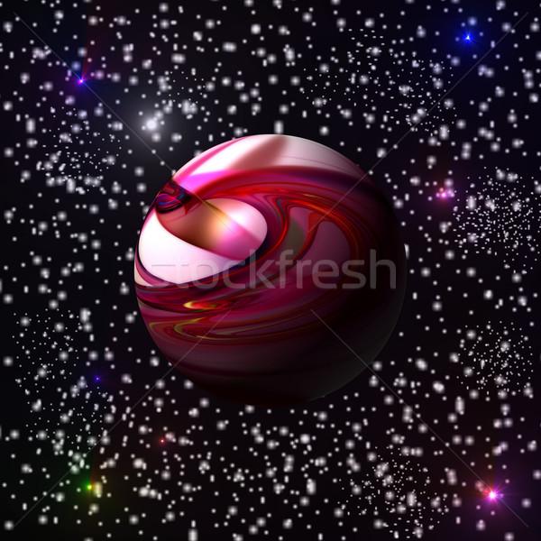 Red Planet Stock photo © hlehnerer