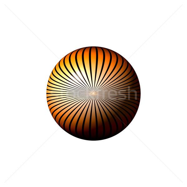 Orange star monde blanc noir blanche résumé Photo stock © hlehnerer