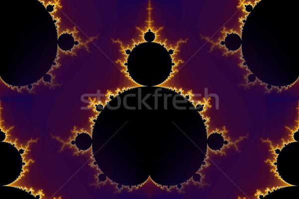 Fractal Mandelbrot Seamless Stock photo © hlehnerer