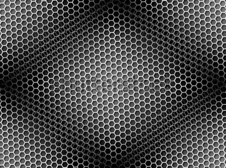 Honeycomb Background Seamless BW Stock photo © hlehnerer