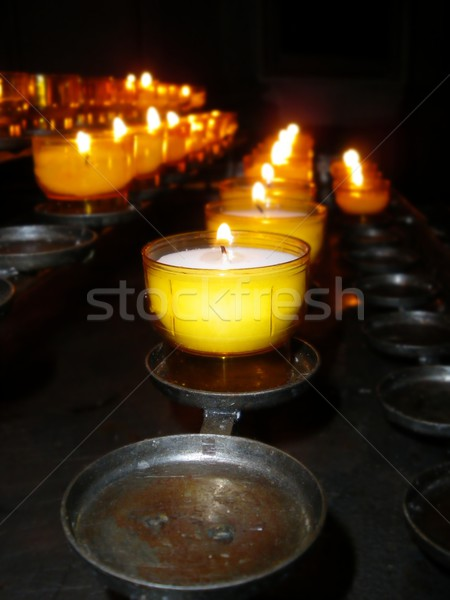 Church Candles Stock photo © hlehnerer