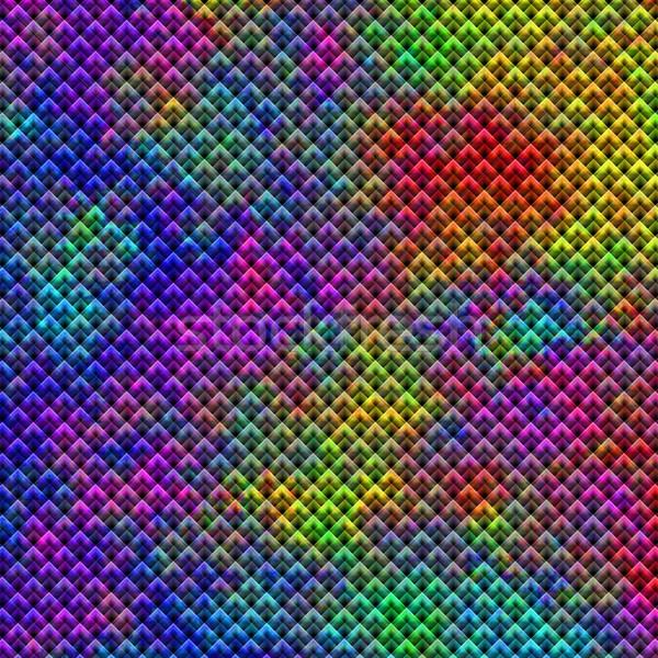 Caleidoscópio abstrato papel de parede fundo parede projeto Foto stock © hlehnerer
