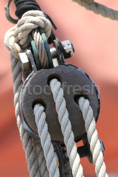 Block and Tackle Stock photo © hlehnerer