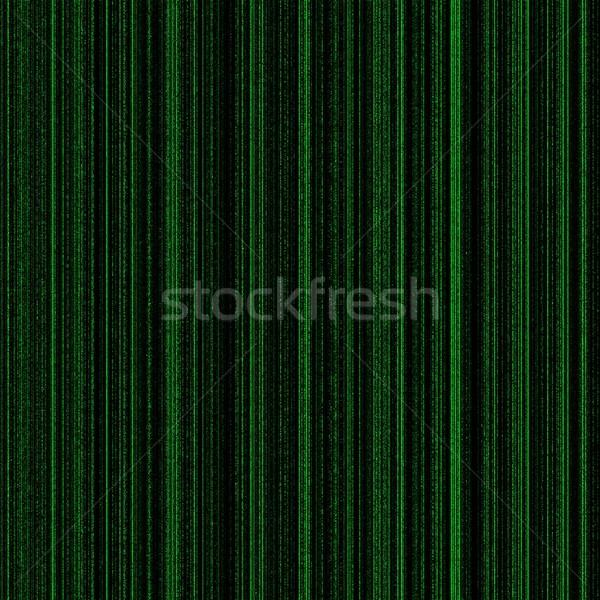 Matrix grünen neon Spalten Licht Design Stock foto © hlehnerer