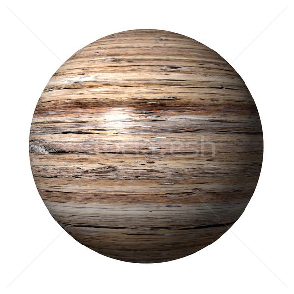 Wooden Globe Stock photo © hlehnerer