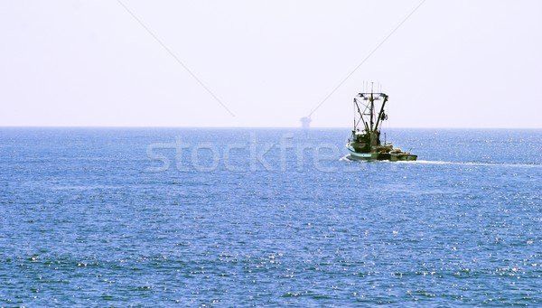Fishing Boat Stock photo © hlehnerer