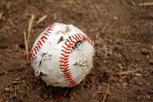 old baseball Stock photo © hlehnerer