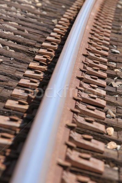 Train Track Stock photo © hlehnerer
