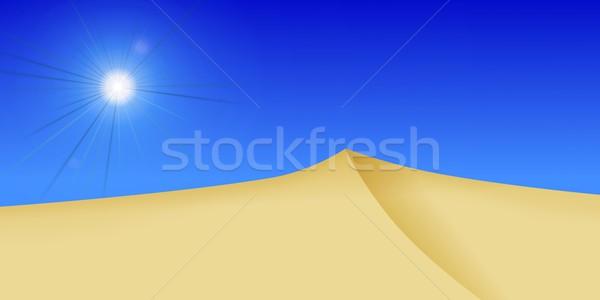 Dessert Sun Stock photo © hlehnerer