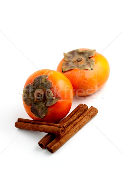 Persimmon Cinnamon Stock photo © hlehnerer