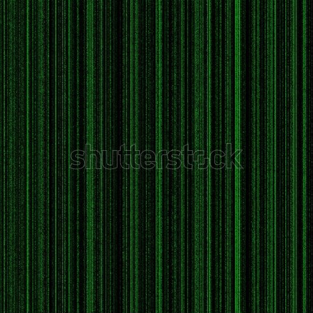 Mátrix zöld neon oszlopok fény terv Stock fotó © hlehnerer