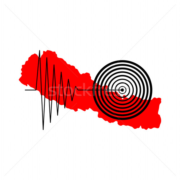 Nepal Earthquake Tremore Stock photo © hlehnerer