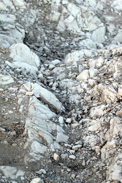 Rotsen abstract grijs rock grond natuur Stockfoto © hlehnerer