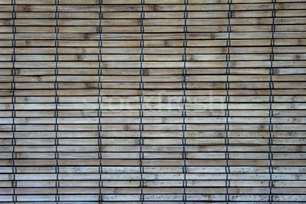 Bambo Wall Stock photo © hlehnerer