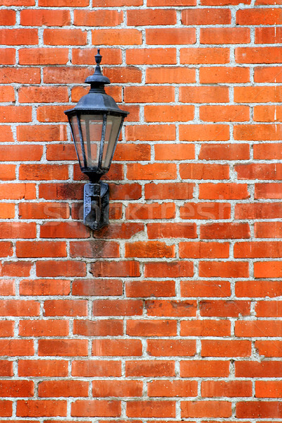 Stock photo: Brick Wall Light