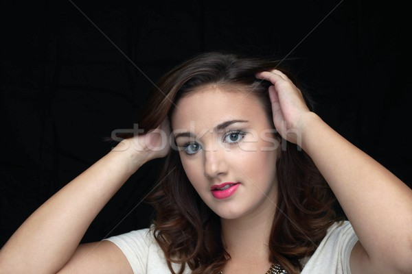 Woman Smiling Stock photo © hlehnerer