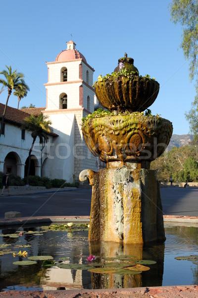 Misión histórico California EUA cielo Foto stock © hlehnerer