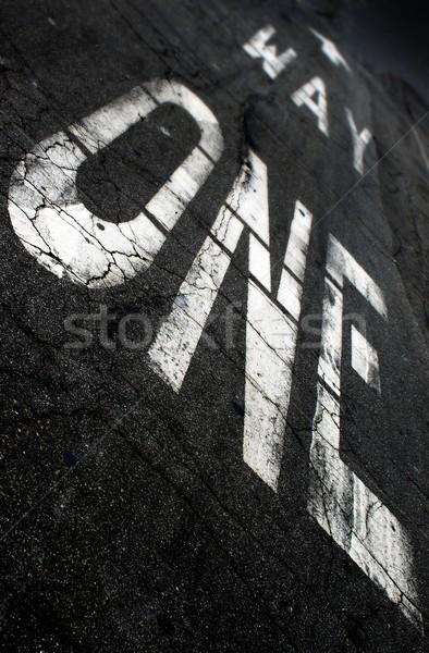 One Way Stock photo © hlehnerer