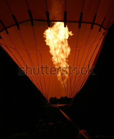 Stock photo: Hot Air Baloon