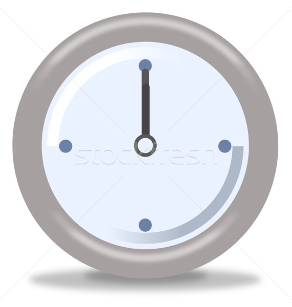 Clock Twelve Stock photo © hlehnerer