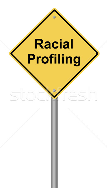 Racial Profiling Stock photo © hlehnerer