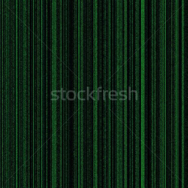 Matriz verde néon colunas luz projeto Foto stock © hlehnerer