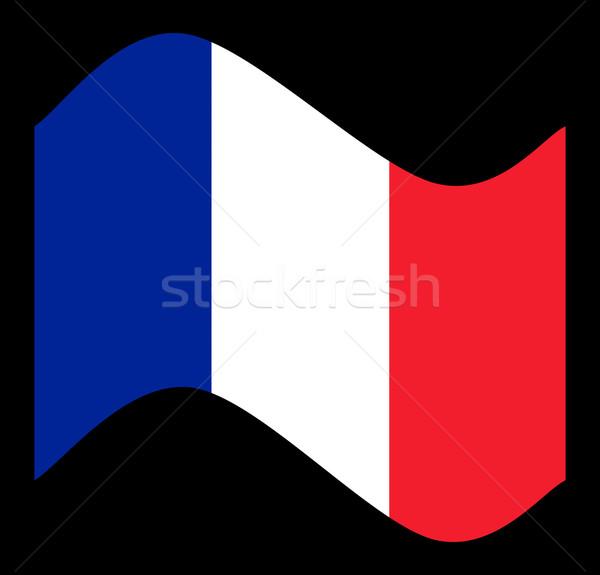 France Flag Wave Stock photo © hlehnerer