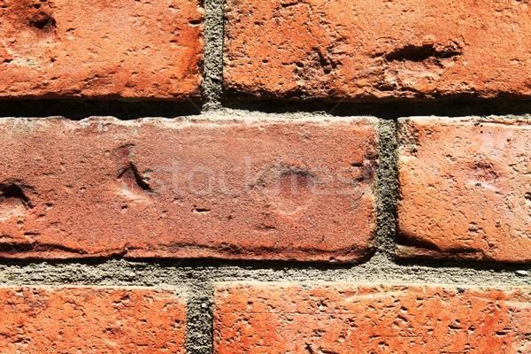 Brick Wall Closeup Stock photo © hlehnerer