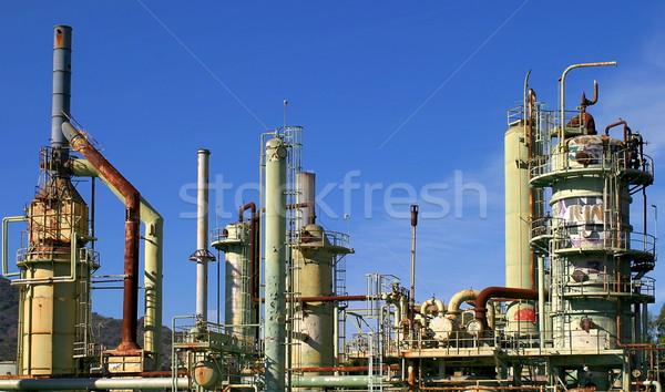 Oil Refinery Stock photo © hlehnerer