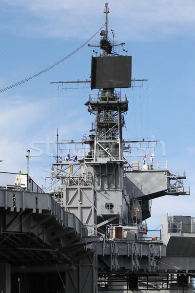 Buque radar San Diego radio guerra comunicación Foto stock © hlehnerer