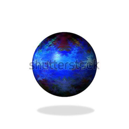Abstract Blue Globe Stock photo © hlehnerer