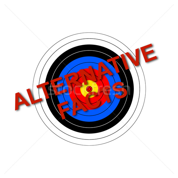 Target Alternative Facts Stock photo © hlehnerer