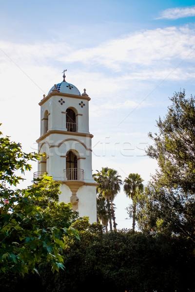 Oficina de correos torre abajo ciudad oficina diseno Foto stock © hlehnerer