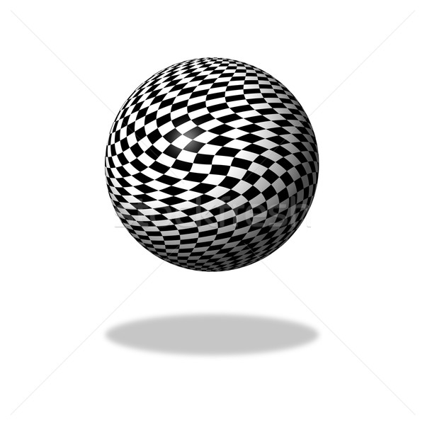 Chessboard Globe Stock photo © hlehnerer
