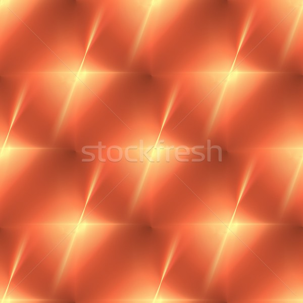 Fractal Orange Star Stock photo © hlehnerer