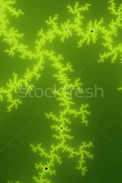 Verde fractal belo cores ciência papel de parede Foto stock © hlehnerer
