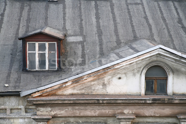 old roof Stock photo © Hochwander