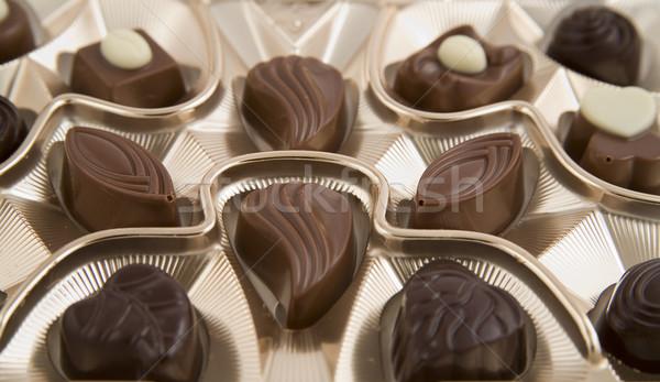 Stok fotoğraf: çikolata · kutu · tok · lezzetli · düğün