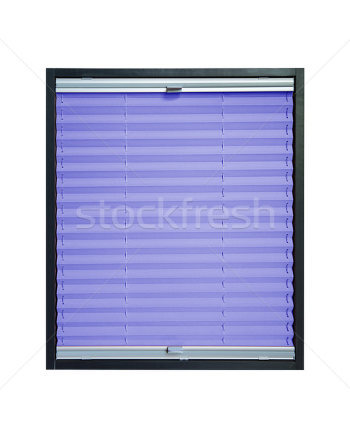 Pleated blind  - violet purple color Stock photo © Hochwander