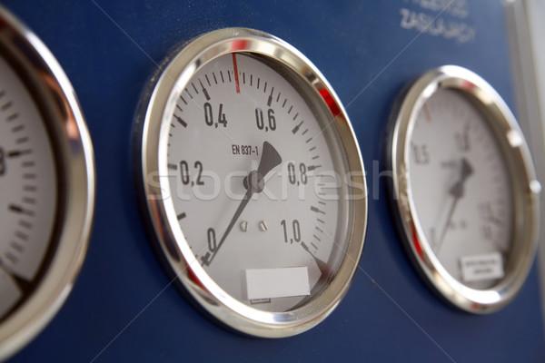 три контроль поезд кокпит технологий время Сток-фото © Hochwander