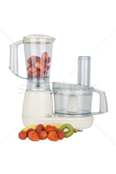fresh fruits ready to chop Stock photo © Hochwander