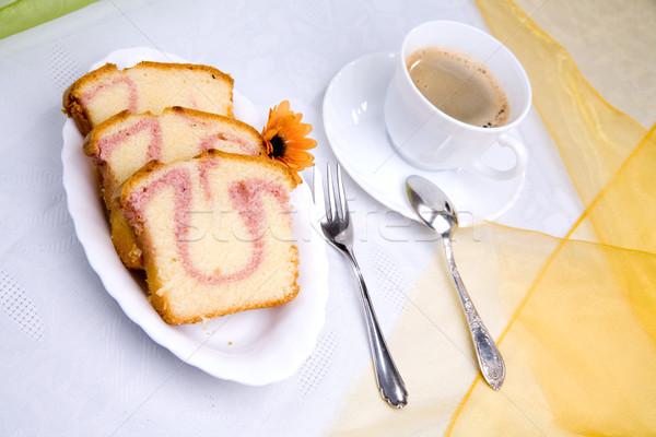 sweet cake Stock photo © Hochwander