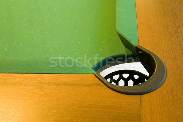 コーナー プールテーブル ポケット プール パンク 再生 ストックフォト © Hochwander
