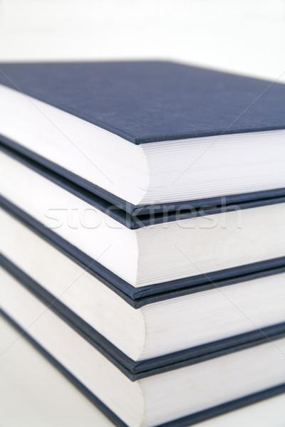 книгах белый бумаги книга студент Сток-фото © Hochwander