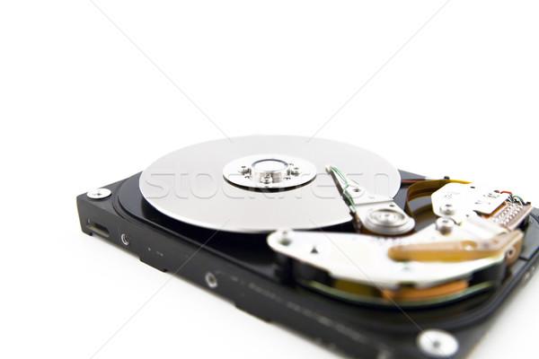 Takarékosság adat közelkép kinyitott lemez vezetés Stock fotó © Hochwander