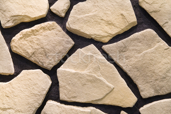 fragment of sandstone wall Stock photo © Hochwander