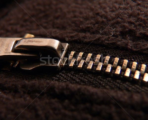 zipper Stock photo © Hochwander